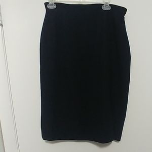 Black dress skirt size 12 by Evan-Picone